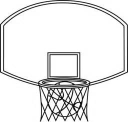 Basketball Net Clip Art Black and White