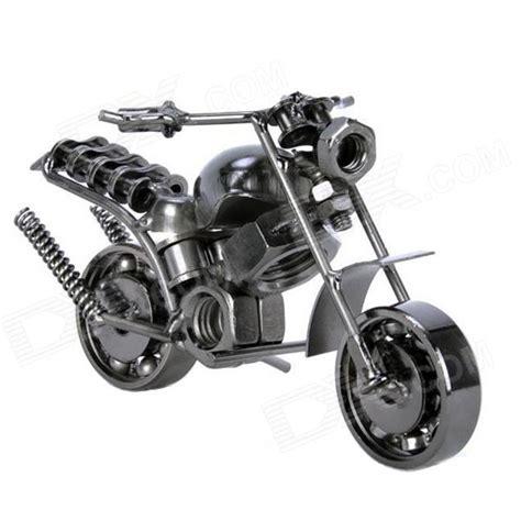 test ordinateur de bureau creative fer forgé modèle de moto ameublement article