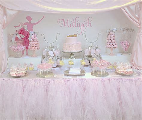 Pregnant Ballerina Baby Shower  Project Nursery