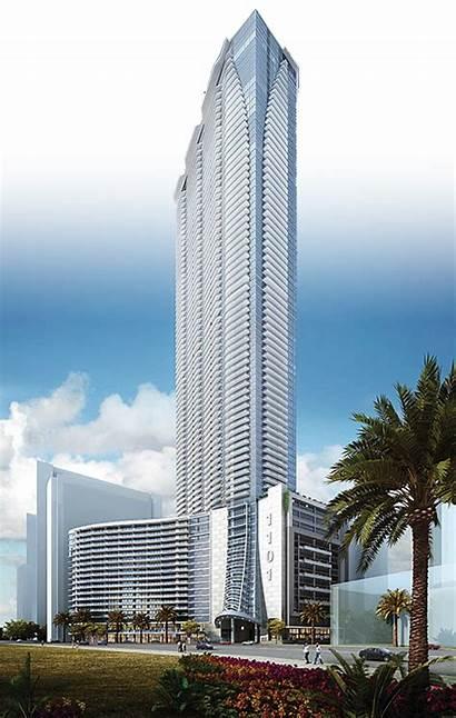 Panorama Tower Miami 1101 Brickell Tallest Bay
