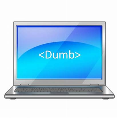 Dumb Computers Learning Computer Stupid Smarter Dumber