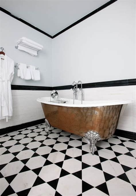 bathroom tiles black and white ideas 71 cool black and white bathroom design ideas digsdigs