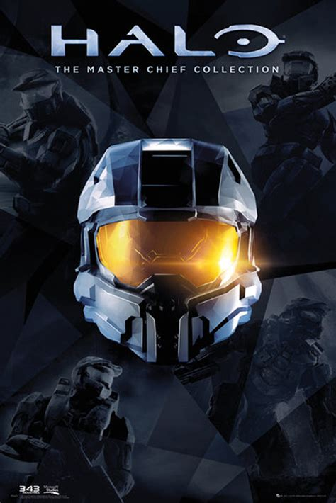 halo master chief collection poster