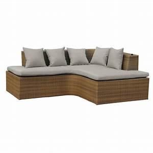 Gartenmöbel Polyrattan Lounge : lounge set gartenm bel set aus polyrattan wetterfest und uv best ndig hawaii ebay ~ Indierocktalk.com Haus und Dekorationen