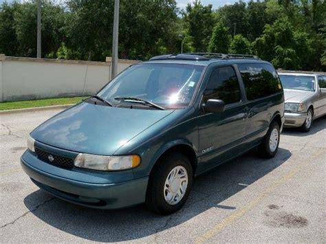 minivan nissan quest 1996 nissan quest gxe minivan