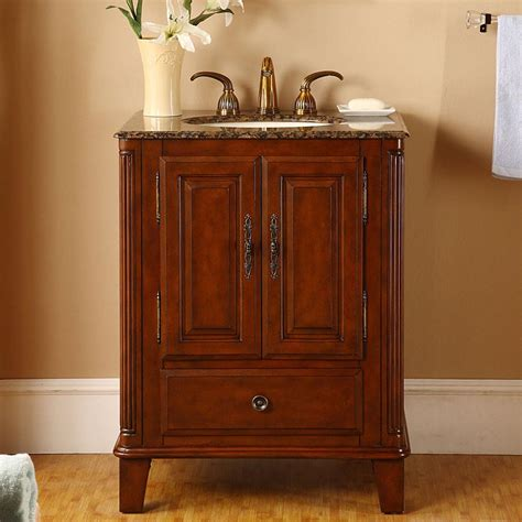 ivory ceramic kitchen sink silkroad exclusive 28 quot single sink cabinet baltic brown 4882