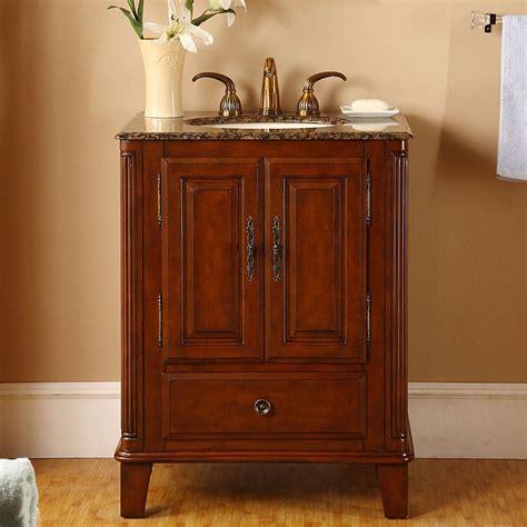 florence 28 single sink marble top vanity by lanza g3163 28 single sink vanity baltic brown granite top cabinet