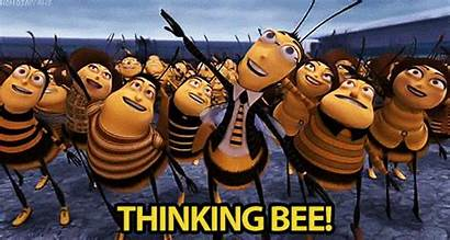 Bee Bees Thinking Gifs Worker Whole Fish