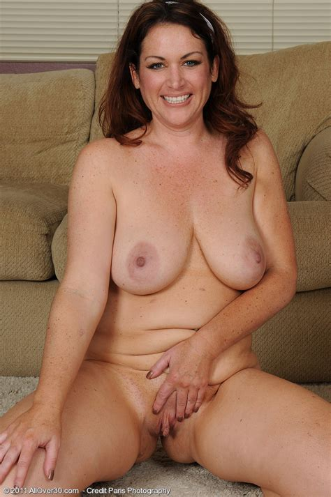 Busty Milf Ryan From Allover Works Out Her Curvy Body