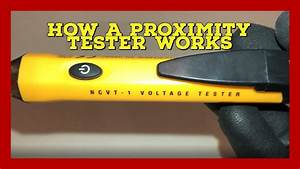 How A Voltage  Proximity Tester Works