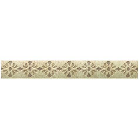 daltile fashion accents tapestry 1 in x 9 in decorative