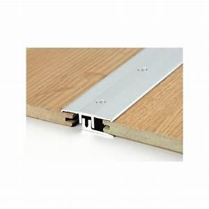 barre de seuil symetrique parquet alu or long 090m With barre de seuil pour parquet