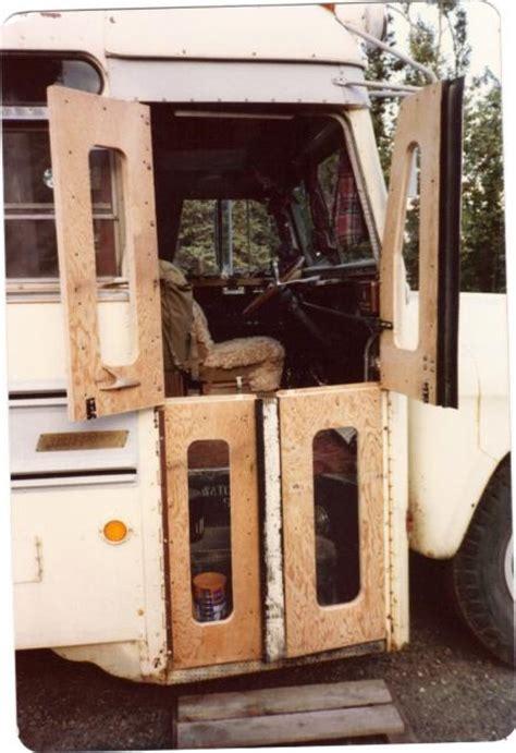 bus door vardo bus conversions school bus conversion