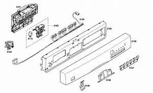 Bosch She45m02uc  53 Dishwasher Parts
