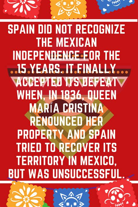 Read more facts about Mexico's independence. #patriotic # ...