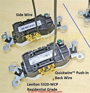 Back Wired Switch