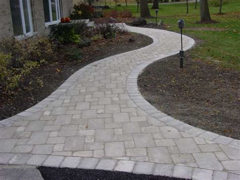 Lake County Il Unilock Pavers Walk  Landscape Pavers