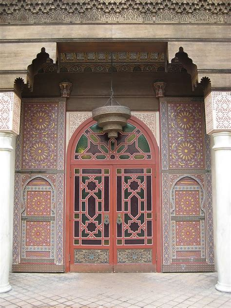 intra design moroccan doors