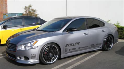 nissan maxima race car stillen 7th gen for sema maxima forums