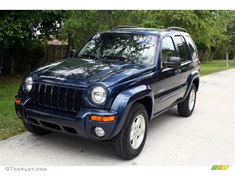 liberty jeep 2004 2004 patriot blue pearl jeep liberty limited 30036519