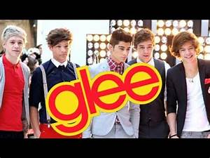 One Direction To Guest Star On Glee?! - YouTube