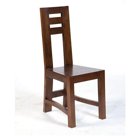 chaises en teck magnifique chaise en teck massif finition antik