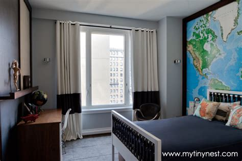 World And Travel Themed Boy's Room