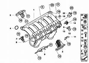 Original Parts For E60 530i N52 Sedan    Engine   Intake Manifold System