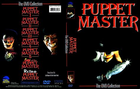puppet master collection  dvd scanned covers