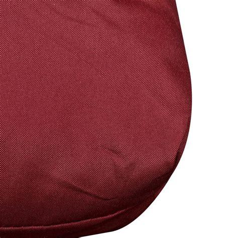 cuscini 80x80 cuscino da seduta imbottito rosso 120 x 80 x 10 cm
