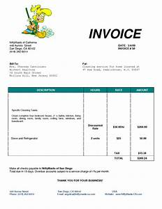 cleaning bill invoice services invoice ideas for the With janitorial invoice template