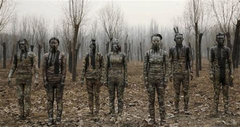 artist  people disappear  chinas smog problem