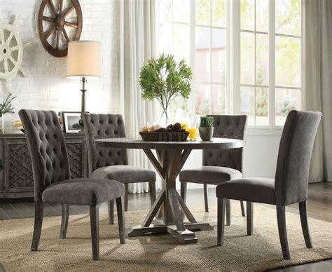 carmelina dining table   weathered gray oak gray