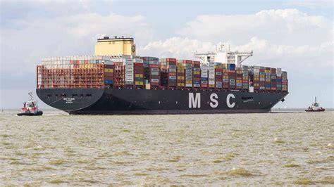 """Check out containerschiff's art on deviantart. """"MSC Gülsün"""": Das größte Containerschiff der Welt hat in ..."""