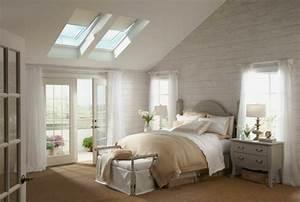 Gestaltungsideen Schlafzimmer Wände : schlafzimmer mit dachschr ge sch ne gestaltungsideen ~ Markanthonyermac.com Haus und Dekorationen