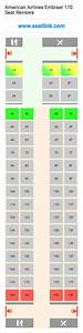 American Airlines Seating Chart American Airlines Embraer 170 E70 Seat Map Delta