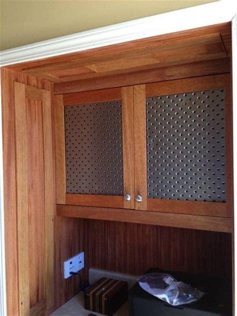 converted coat closet to built in entertainment center