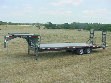 Flat Deck Gooseneck Trailers by Flatbed Trailers
