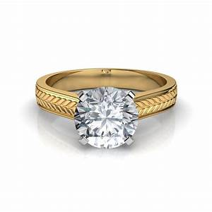 cathedral solitaire engagement ring With wedding bands for solitaire diamond engagement rings