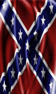 Background Rebel Confederate Flag