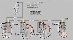 Another 4 Way Switch Wiring Question   - Electrical