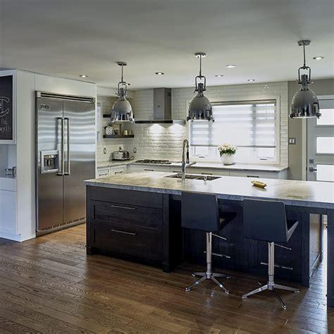 cuisine contemporaine bois cuisines beauregard cuisine réalisation 348 cuisine