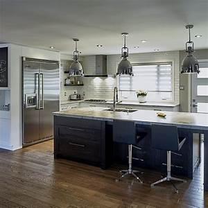 Cuisine Bois Massif : cuisine contemporaine bois massif maison design ~ Premium-room.com Idées de Décoration