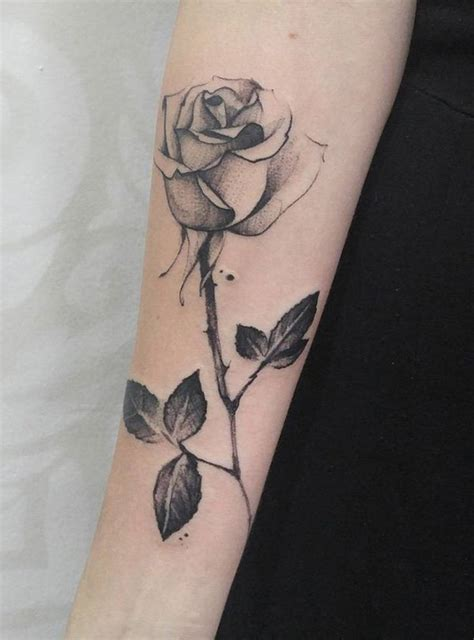 rose forearm tattoo designs ideas  meaning tattoos