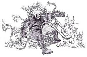 Ghost Rider Drawings