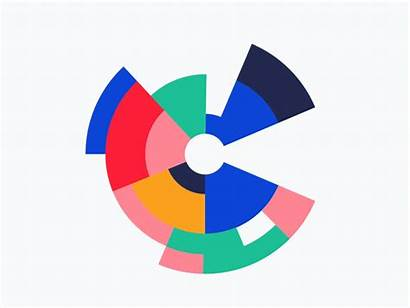 Dribbble Circular Tetris Shapes Abstract Shape Geometric