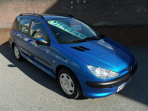 Peugeot 206 For Sale by Used Peugeot 206 2004 Model 1 4 Hdi S 5dr Diesel Estate
