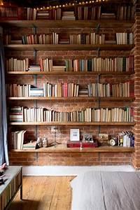 étagère Murale Bibliothèque : l tag re biblioth que comment choisir le bon design interieur pinterest etagere murale ~ Teatrodelosmanantiales.com Idées de Décoration