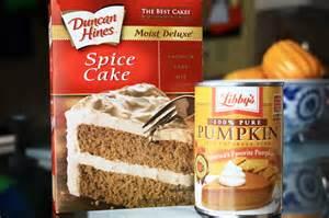 Cake Mix And Pumpkin Pie Filling Recipe pumpkin spice muffins