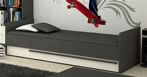 Global Wohnen Online Shop : bett jugendbett 90x200cm grafit grau andersen kiefer neu betten kinder jugendzimmer ~ Bigdaddyawards.com Haus und Dekorationen
